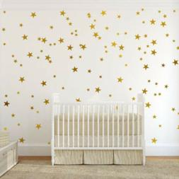 110Pcs Star Wall Decals Art Sticker for Baby Nursery Kids Be