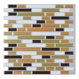"""12""""x12"""" Peel and Stick Wall Sticker Tile for Kitchen Backspl"""