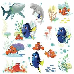 19 Disney FINDING DORY Nemo Bailey Fish Wall Decals Tropical