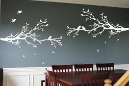 2 x Large Tree Branches Wall Decals Deco Art Sticker Mural w