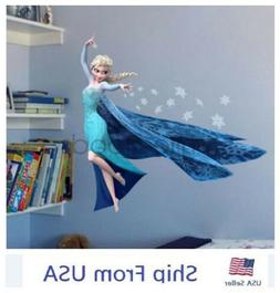 Frozen Inspired Elsa Wall Decals Stickers Removable Kids Roo
