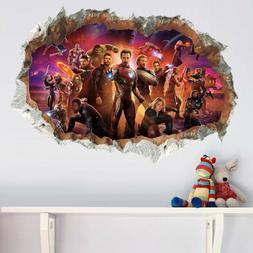 3D Avengers Infinity War Wall Sticker Wall Decal for Kids Be