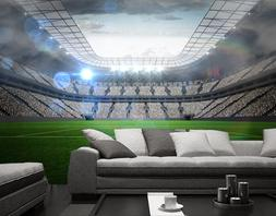 3D Bright stadium 33 Wall Paper Print Wall Decal Deco Indoor