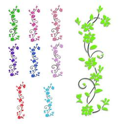 3D Flower Decal Vinyl Decor Art Removable Mural Family Livin