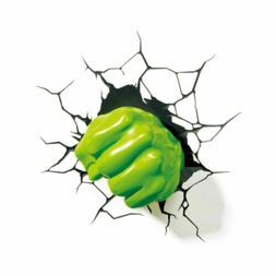 3D Hulk Fist Wall Sticker Superhero Avengers Wall Decals Kid