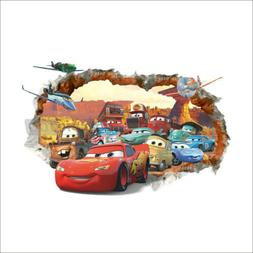3D  McQueen Mater Out Cars Wall Removable Decal Sticker Deca