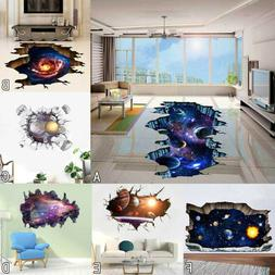 3D Star Floor Wall Sticker Home Removable Mural Decals Vinyl