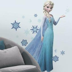 44 Piece Disney Frozen Elsa Giant Wall Decal Set For Kids Ro