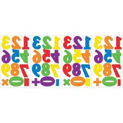 48 New Colorful Primary NUMBERS WALL Decals Kids Room Classr