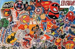 50+ Super hero vinyl decals stickers marvel comics hulk spid