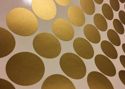 "100ct 2"" Peel And Stick Polka Dot Circle Wall Decal Sticker"