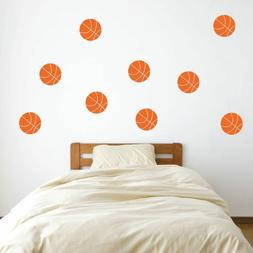 9 4 basketball vinyl wall decals pick