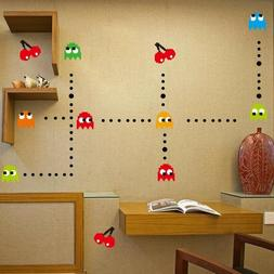 90cm*30cm Kids Wall Stickers Cartoon Korea Pacman Game Kids