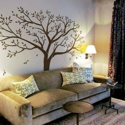 99 x79 large black tree wall stickers