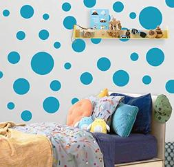 Create-A-Mural Polka Dot Wall Stickers, Wall Decor Stickers,