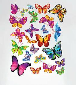 Innovative Stencils 3005 Easy Peel and Stick Colorful Butter
