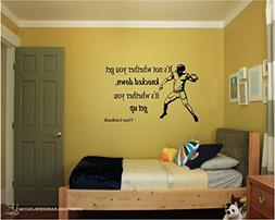 Quote It! - Vince Lombardi Football Vinyl Wall Decals Quotes