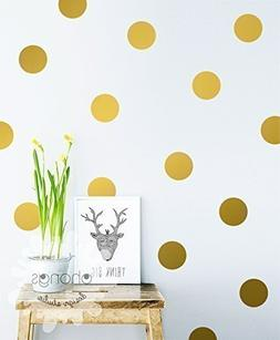 A polka dot wall / Polka Dot Wall Decal / Large Polka Dot De