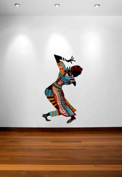 """African Tribal Design Wall Decal - 45"""" x 26"""""""