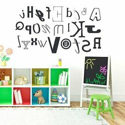 Alphabet Kid's 58-inch Wide Wall Decal