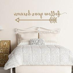 arrow wall decal follow dreams