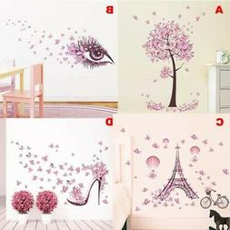 Art Mural Removable Butterfly Decals Lovely Wall Sticker Kid