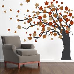 Autumn Spring Tree Wall Decal Wallpaper Floral Plant Life Re
