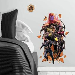 AVENGERS ENDGAME Giant Peel and Stick Wall Decals Captain Am