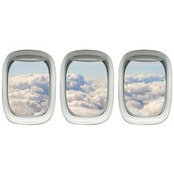 Aviation Decals Airplane Window Clings Plane Window Stickers