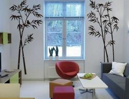 Bamboo Mural Removable DIY Art Wall Decals Stickers Art Home