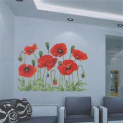 Beautiful Large Love Flower Removable Vinyl Decal Wall Stick