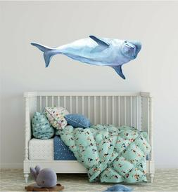 Beluga Whale Wall Decal Ocean Sea Removable Wall Sticker Fab