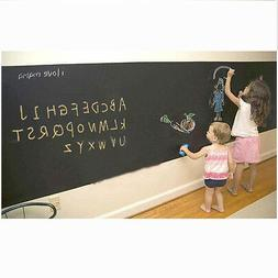 Black Chalkboard Contact Paper Chalk Boards Wall Papers Deca