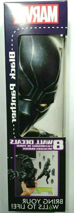 Marvel Black Panther 8 Wall Decals Removable and Repositiona