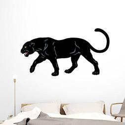 Wallmonkeys Black Panther Wall Decal Peel and Stick Animal G