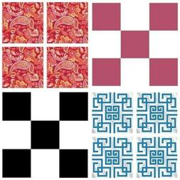 WALL POPS BLOX DECALS - Modern Colors Patterns Square Accent
