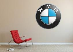 BMW Car Wall Decal  Modern Decorative Lounge Bedroom Removab