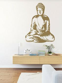 Buddha Wall Decal, Buddha Wall Art, Asian Wall Decal, Nurser