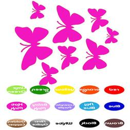 Butterflies Family Decals vinyl wall decals stickers home wi