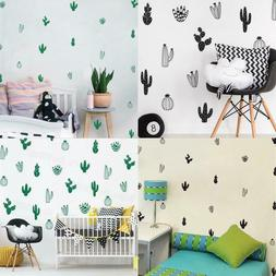 Cactus Wall Decals Woodland Tribal 16 Cactus Wall Stickers F