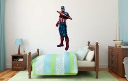 Captain America Superheroe Wall Decal Decor For Kids Childs