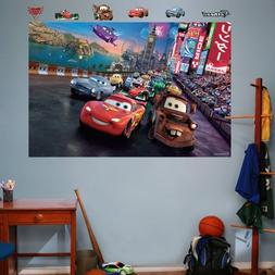 Cars 2 Parade Mural-Fathead: set