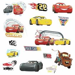 Disney CARS 3 MOVIE WALL DECALS Lightning McQueen Mater Cruz