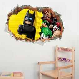 ZOOYOO® Cartoon Batman Child Room Wall Stickers For Kids Ro