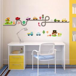 Cartoon Sports Car Wall Sticker Decal Home Decor Removeable