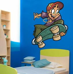 ced510 Full Color Wall decal Sticker for boys Sports bedroom