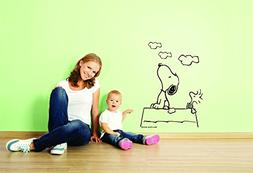 charlie brown snoopy wall decal