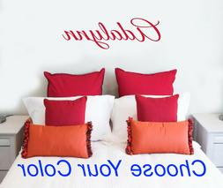 Child's Baby Name Wall Decal Personalized Custom Nursery Boy