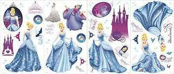 CINDERELLA wall stickers 50 decals Disney princess slipper c