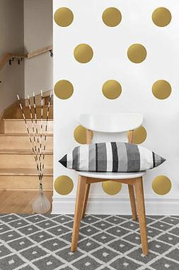"Circle Decals | Polka Dot Vinyl Wall Sticker | 2""-4"" inches,"